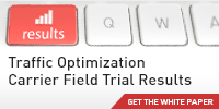 Open Channel Traffic Optimization Carrier Field Trial Results