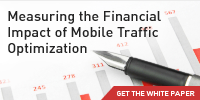 Measuring the financial impact of mobile traffic optimization